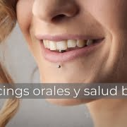 piercings orales y salud bucal