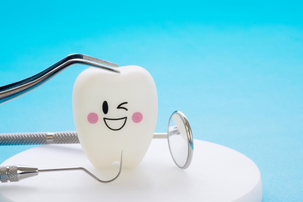 Ilustración diente sonriendo